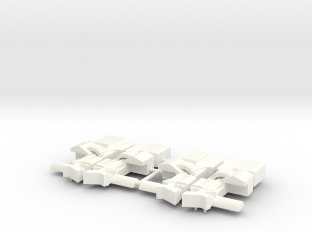 HMG II (Dual) in White Processed Versatile Plastic