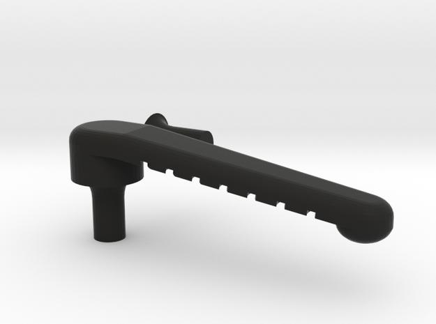Busse Clip High Profile in Black Natural Versatile Plastic