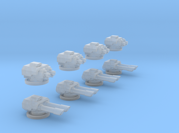 6mm APC Turret Set 3d printed