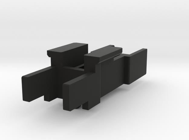 Tantrum Leg Lock for CDMW 15 set in Black Natural Versatile Plastic