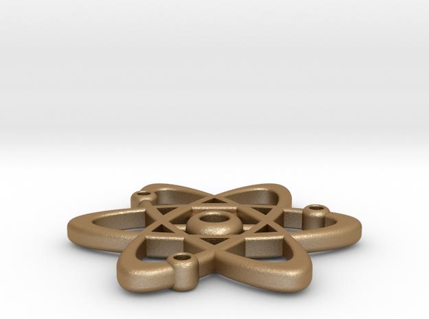 Planetary Atom Pendant 3d printed