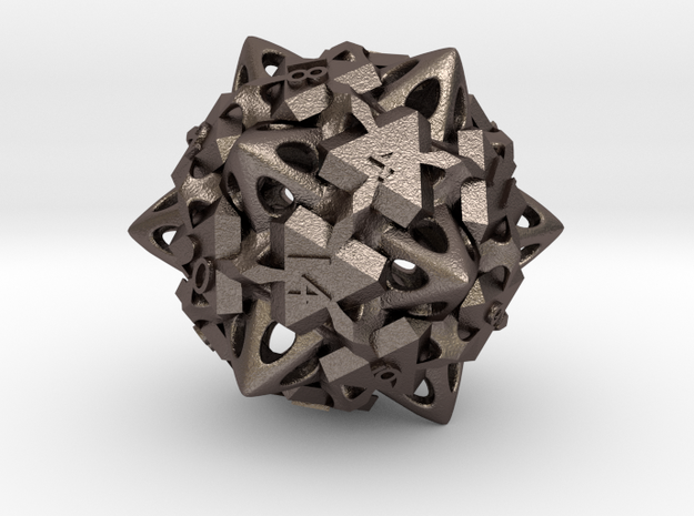 D20 in Stainless Steel