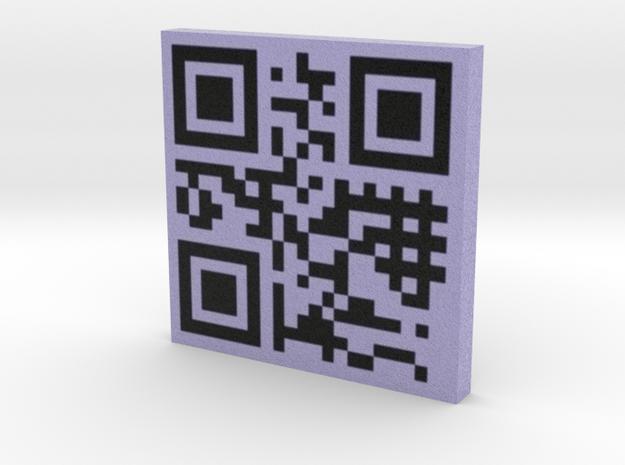 QRCode -- www.carmelari.com 3d printed