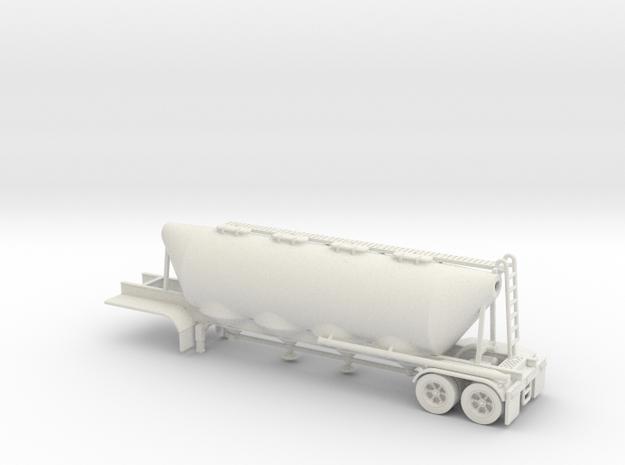 HO 1/87 Dry Bulk Trailer 02 (bigger tank)