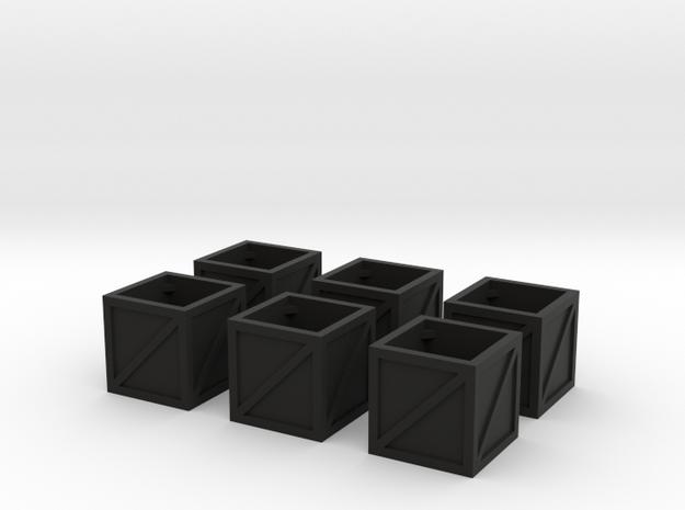 25mm crates x6 3d printed
