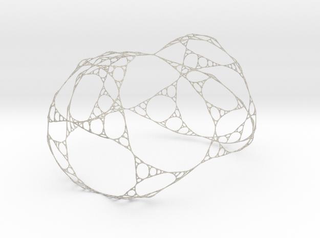 Sierpinski Gasket Like Network in Natural Sandstone