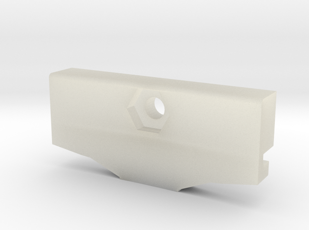 GoPro Goggle Mount- Back Piece 3d printed