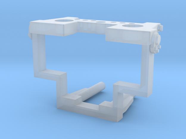 LKW-Vorbauplatte in Smooth Fine Detail Plastic