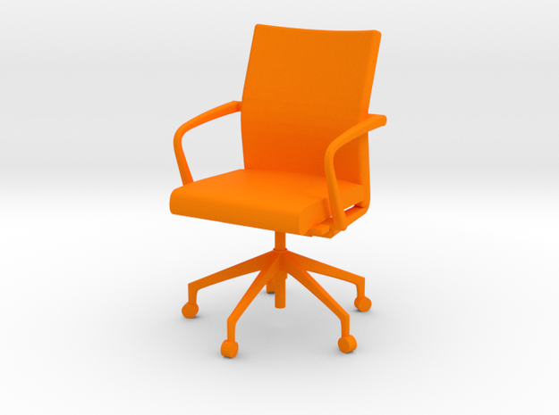 Stylex Sava Chair - Fixed Arms 1:24 Scale 3d printed