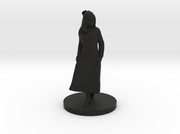 Girl in dress 3d printed
