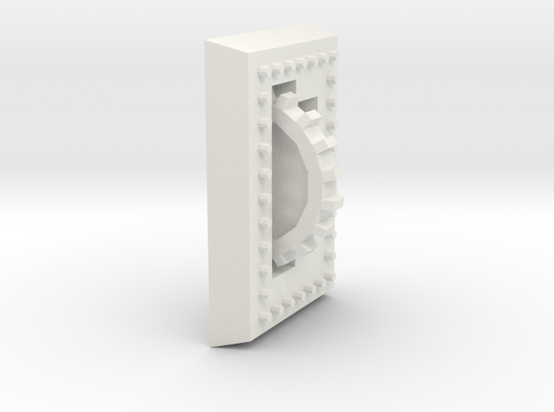 Bolted Plate 3d printed