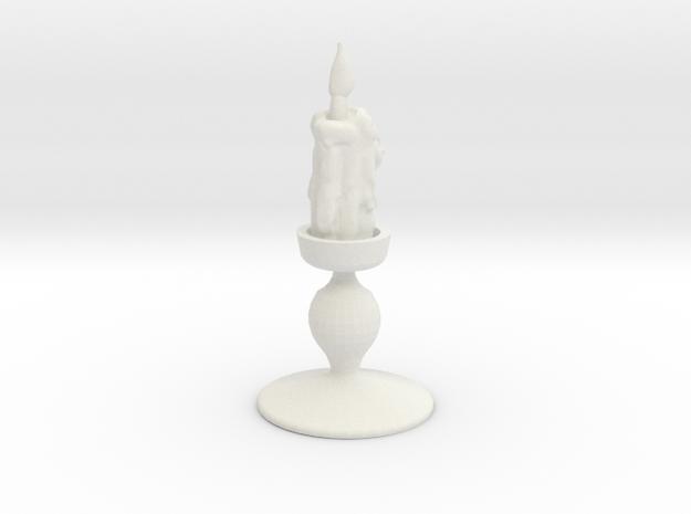 Impcandle in White Natural Versatile Plastic