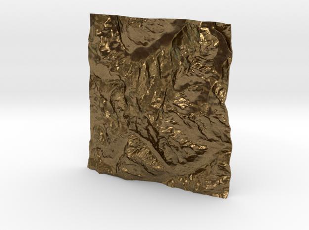 3''/7.5cm Mt. Blanc, France/Italy 3d printed