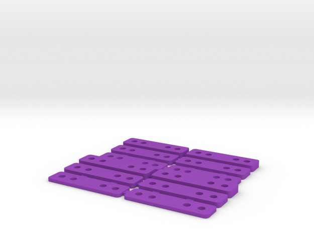 Spacers for Mini-z MR02/03 3d printed