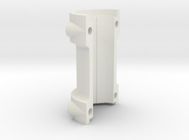 Climax F417 Split Axle Spacer - 1-8th Scale in White Natural Versatile Plastic