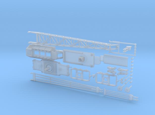 z Gauge 1:220 Kran Crane TAKRAF EDK 300 - 2  in Smooth Fine Detail Plastic
