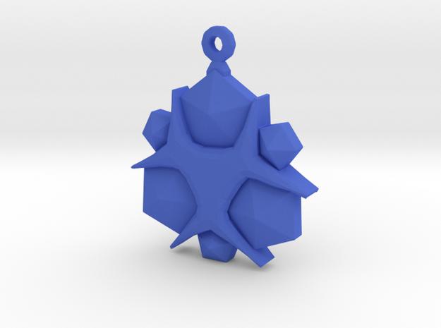 Zelda Nayru Gem in Blue Processed Versatile Plastic