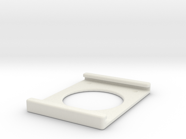 IPad Air Wall Mount  in White Natural Versatile Plastic