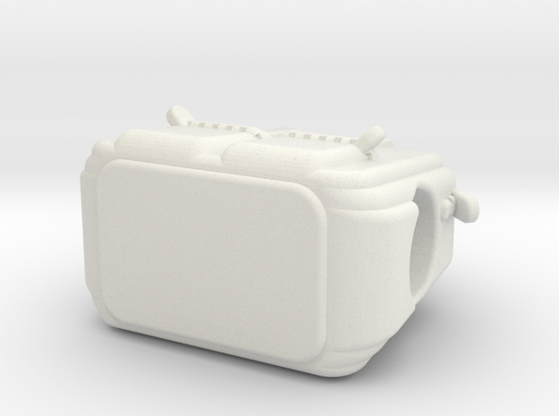 Purse in White Strong & Flexible