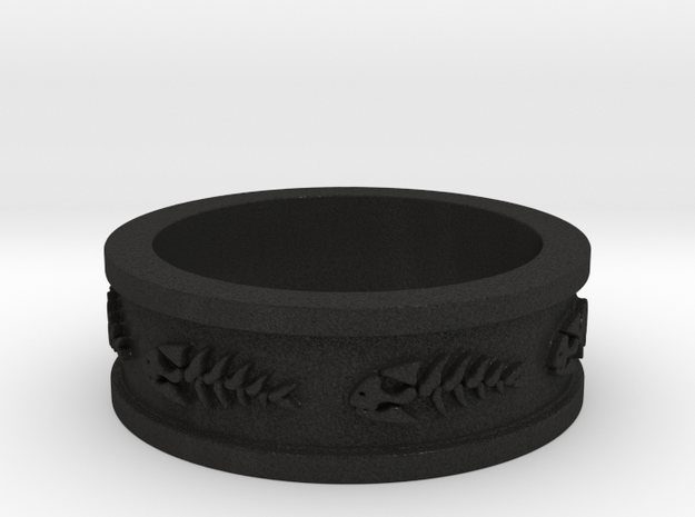 FSM Pirate Fish Ring Size 13 3d printed