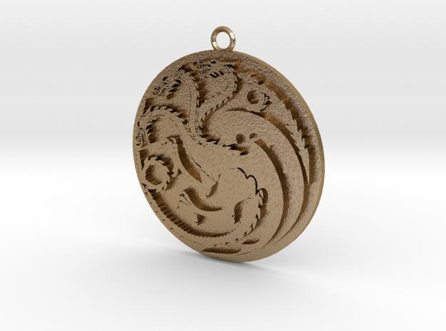 Targaryen Pendant 3d printed