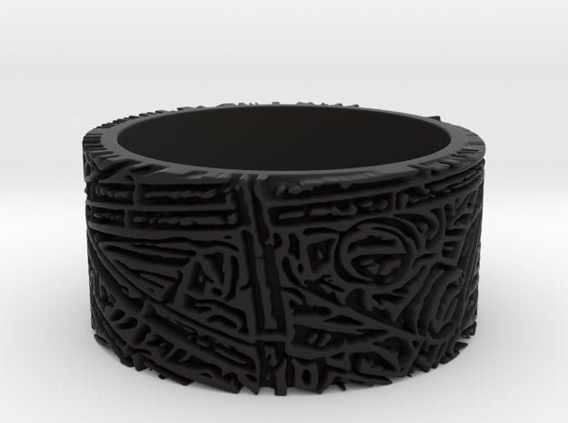 Bamboo Ring Size 11 3d printed