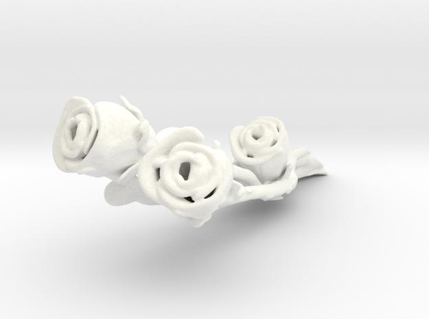 Accessorio Rose fiorangelo in White Processed Versatile Plastic
