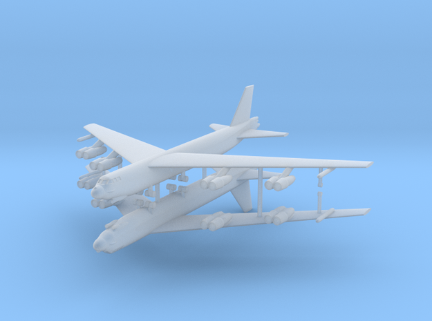 1/600 B-52G Stratofortress (x2) in Smooth Fine Detail Plastic