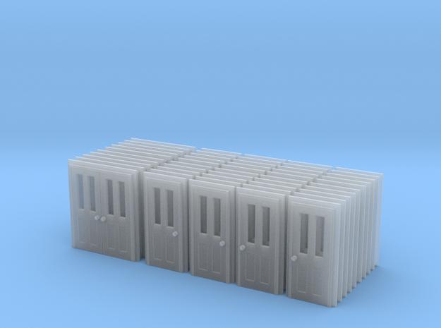 Door Type 5, 6 And 7 - Bulk Pack - N in Smooth Fine Detail Plastic