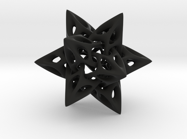 Dodecahedron I, large 3d printed