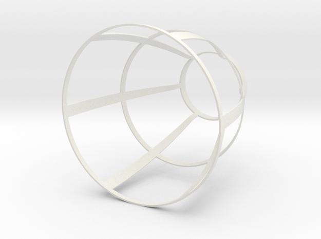 Lamp Fred En Sita-3 in White Strong & Flexible