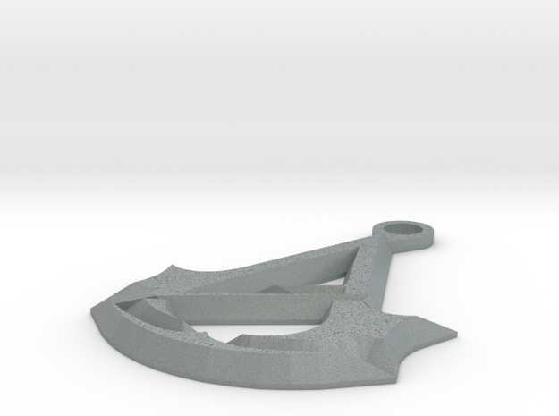 Assassins Creed Unity Keychain 3d printed