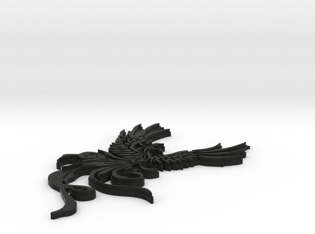 La Fenice Pendant  3d printed