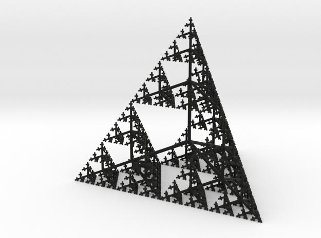 Sierpinski Tetrahedron Tree (thin branches) 3d printed