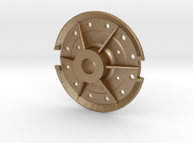 Climax Gear Hub 510 -1-20th Scale 3d printed