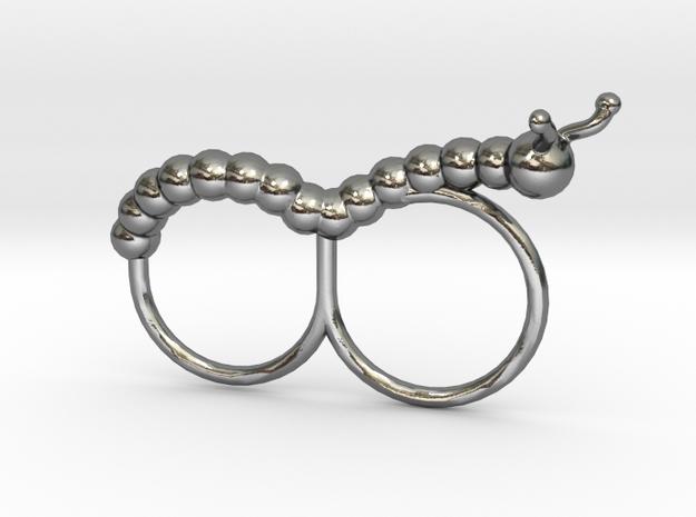 Caster the Curious Caterpillar Ring 3d printed