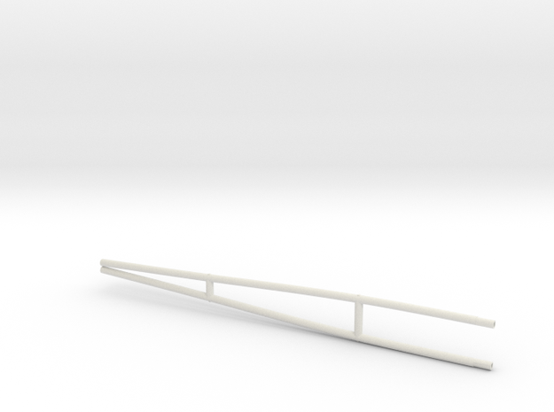 GST30 - Leg  in White Natural Versatile Plastic