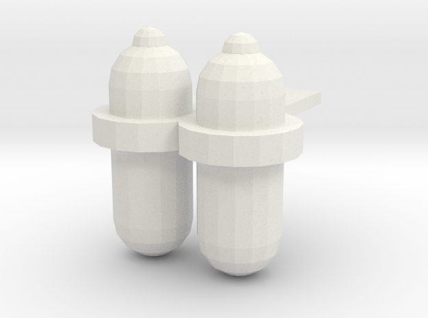 Scuba Tanks-001 3d printed