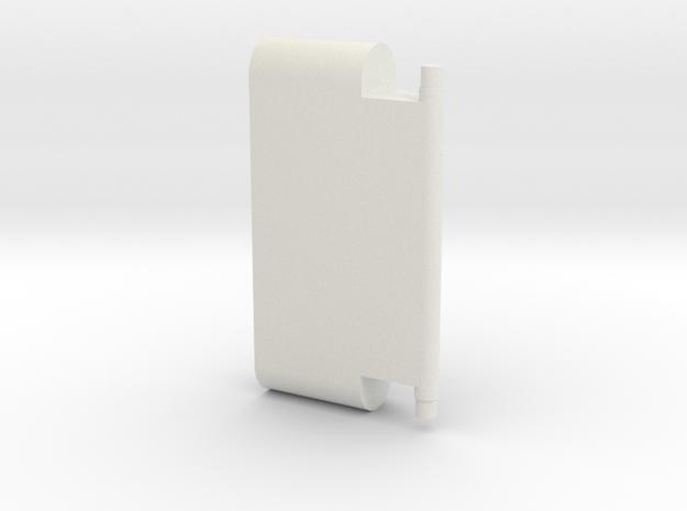 GST30 - Upper Leg Clamp in White Natural Versatile Plastic