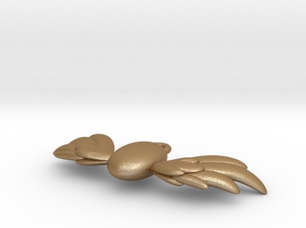 Pegasus Wing Pendant 3d printed