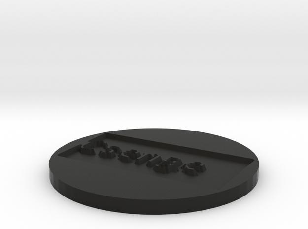 by kelecrea, engraved: Csenge 3d printed
