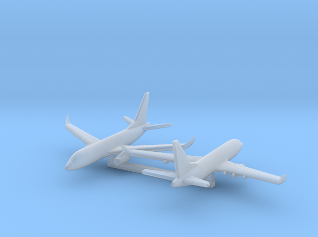1/1200 Boeing 737-700 in Smooth Fine Detail Plastic