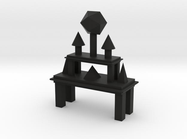 Platonic Altar 3d printed