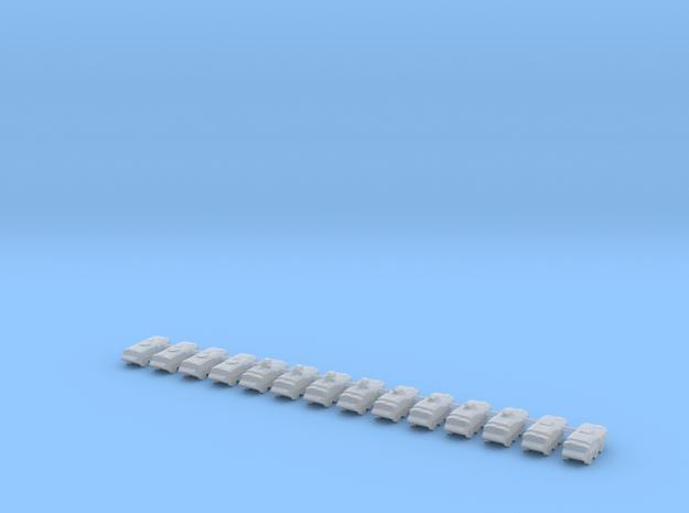1/700 Patria Pasi Variants (x14) in Smooth Fine Detail Plastic