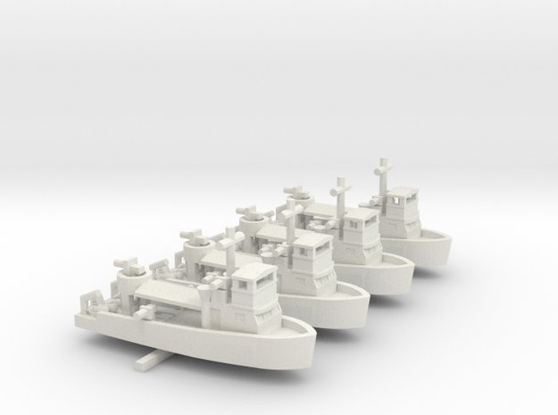 1/600 Vietnam MSB X 4 Off in White Strong & Flexible