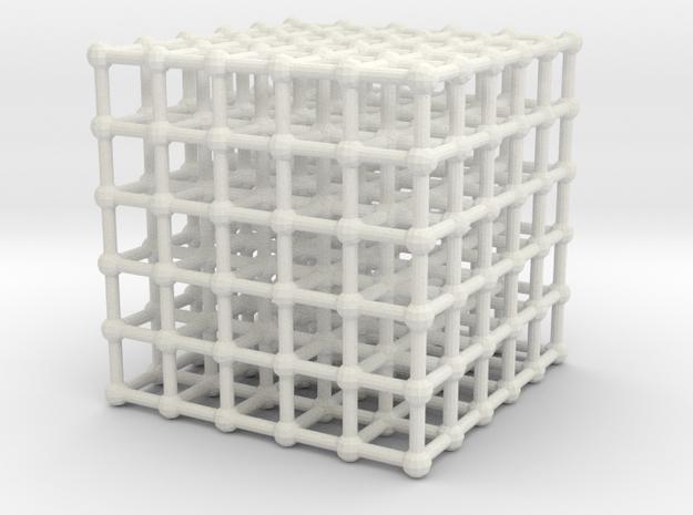 cube matrix (large) in White Natural Versatile Plastic