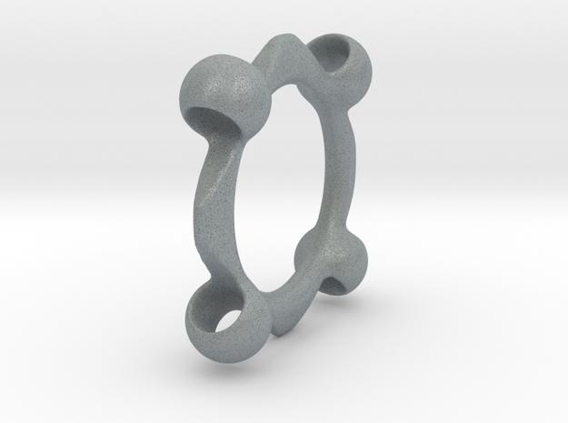 Liquid Metal Unity Pendant 3d printed