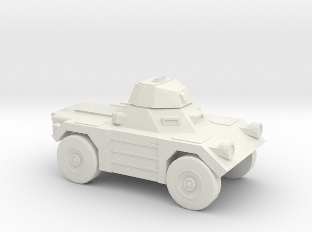 1:200 Daimler FERRET in White Natural Versatile Plastic