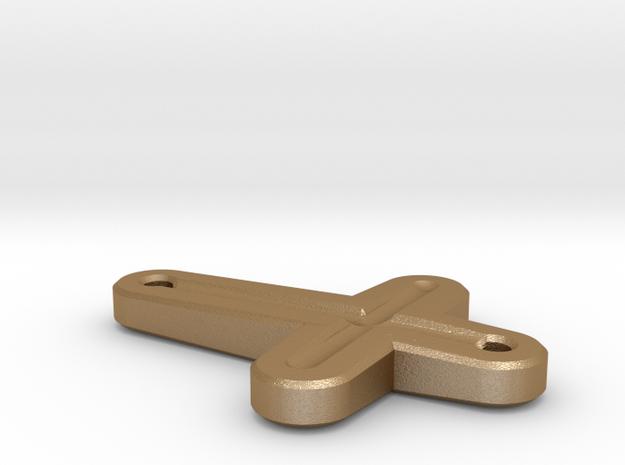 Side Cross Pendant 3d printed
