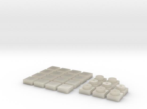 Baldosa1 (x16) + placa1 (x8) 3d printed